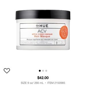 New unopened dp Hue ACV Hair Masque